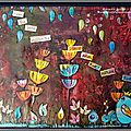 Paperartsy topic 8 sprays challenge.. canvas + tutorial