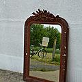 Miroir de cheminée, trumeau