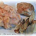 Paupiettes de dinde rôties a l'échalote & purée tomatée