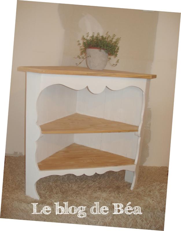 DIY meuble d'angle en bois de palette