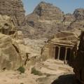 Petra, descente du Sacrifice, par un chemin de toute beaute