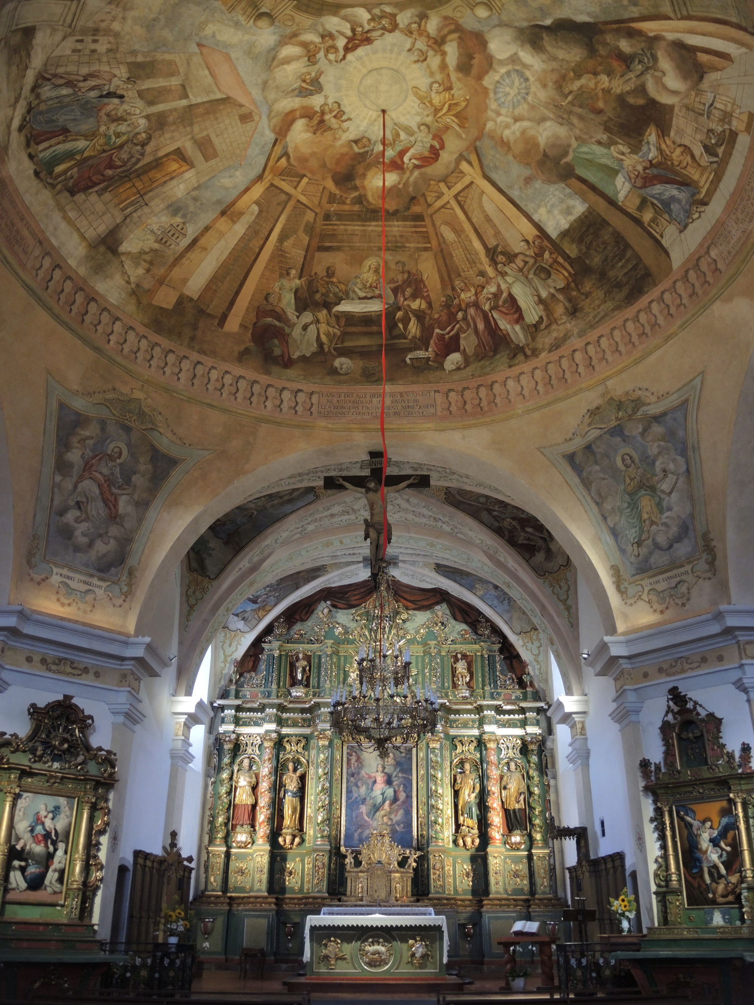 Cordon, église Notre-Dame-de-l'Assomption, intérieur (74)