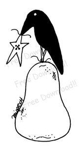 free poire corbeau