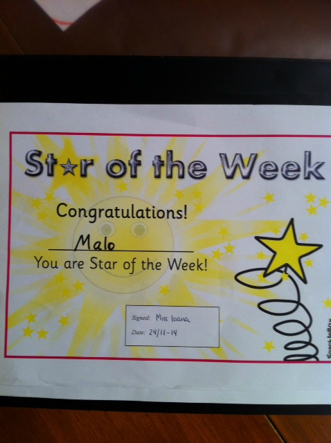 Malo star of the week
