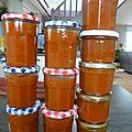 Confiture de courges - sucrine du berry ou butternut