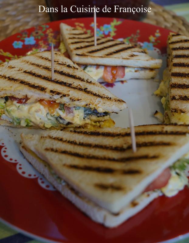 Sandwich Oeufs Mayonnaise