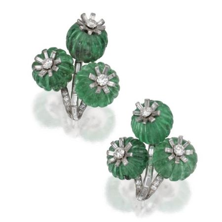 Pair_of_Platinum__Fluted_Emerald_Bead_and_Diamond_Earclips__Cartier__London__Circa_1930a