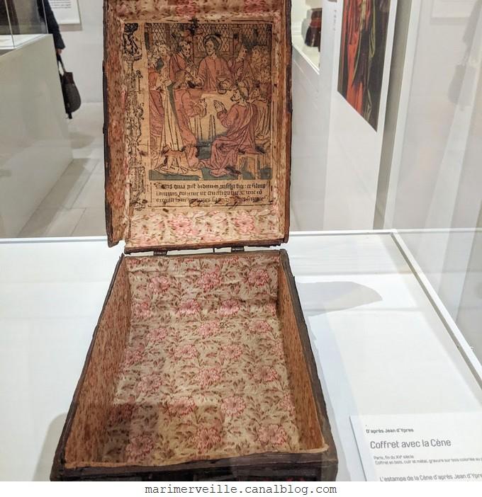 Coffret précieux avec la Cène - Musée de Cluny