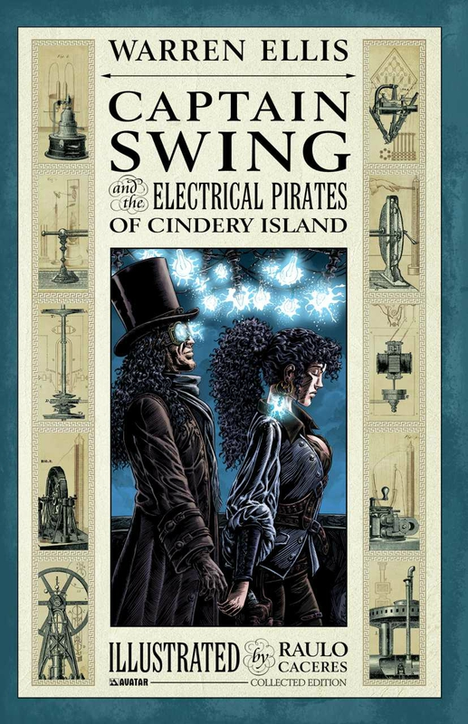 captain swing and the electrical pirates of cindery island TP