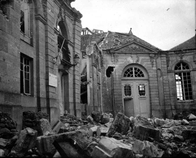 Ruines Verdun Séminaire