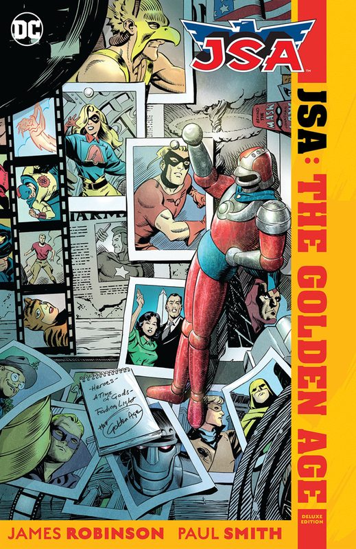 JSA the golden age TPB