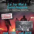 Mai 68, il y a 50 ans, et maintenant? projection et débat-témoignages entre 2 générations: usine, université et culture