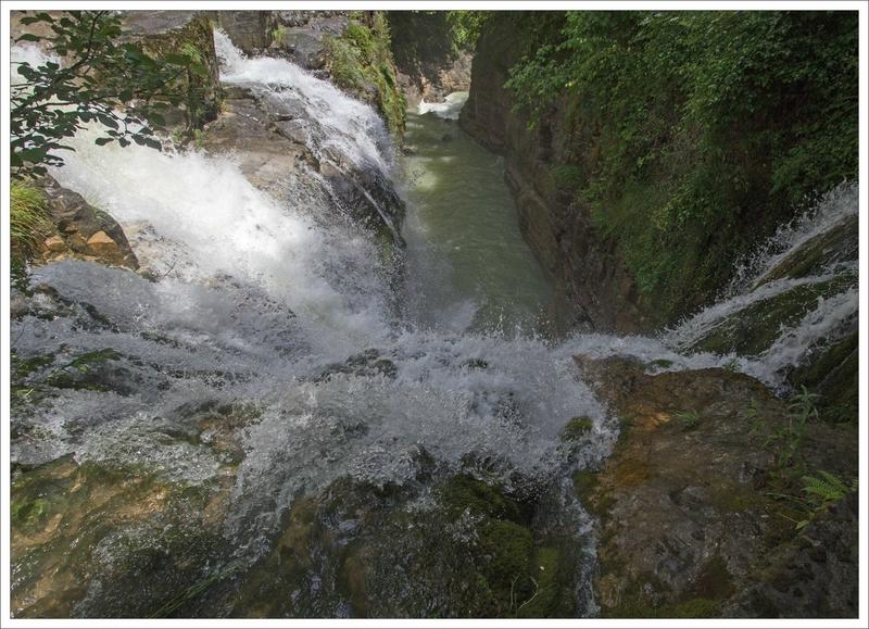 Haut Aragon 120615 Anisclo GA 7 cascades