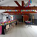Salle décoration anniversaire thème année 80