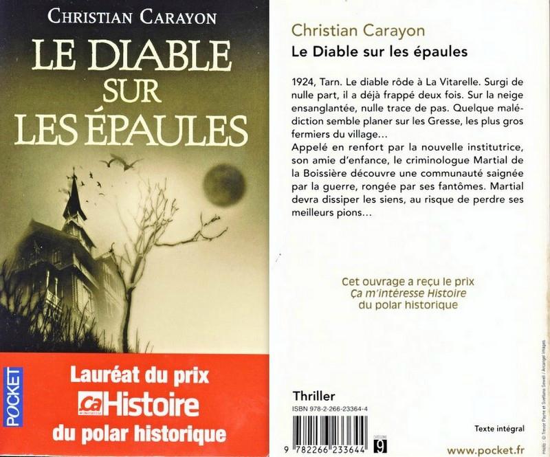 Le diable sur les épaules-Christian Carayon