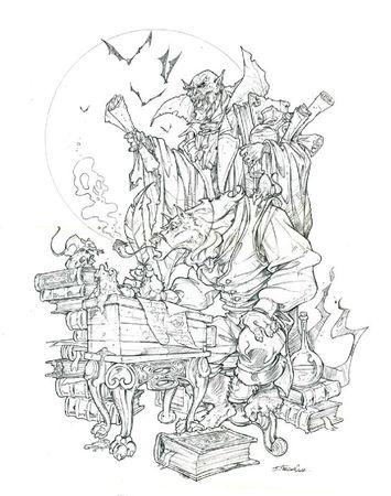 loup-garou-vampire-crayon