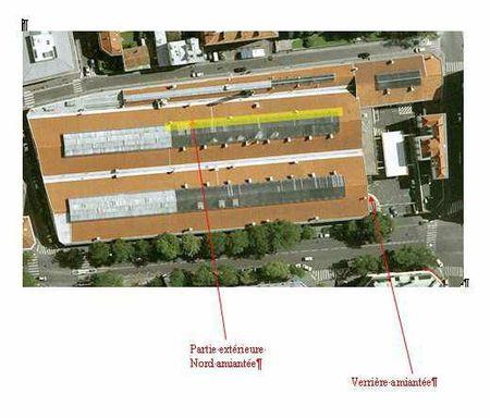 Centre Bus Lagny amiante