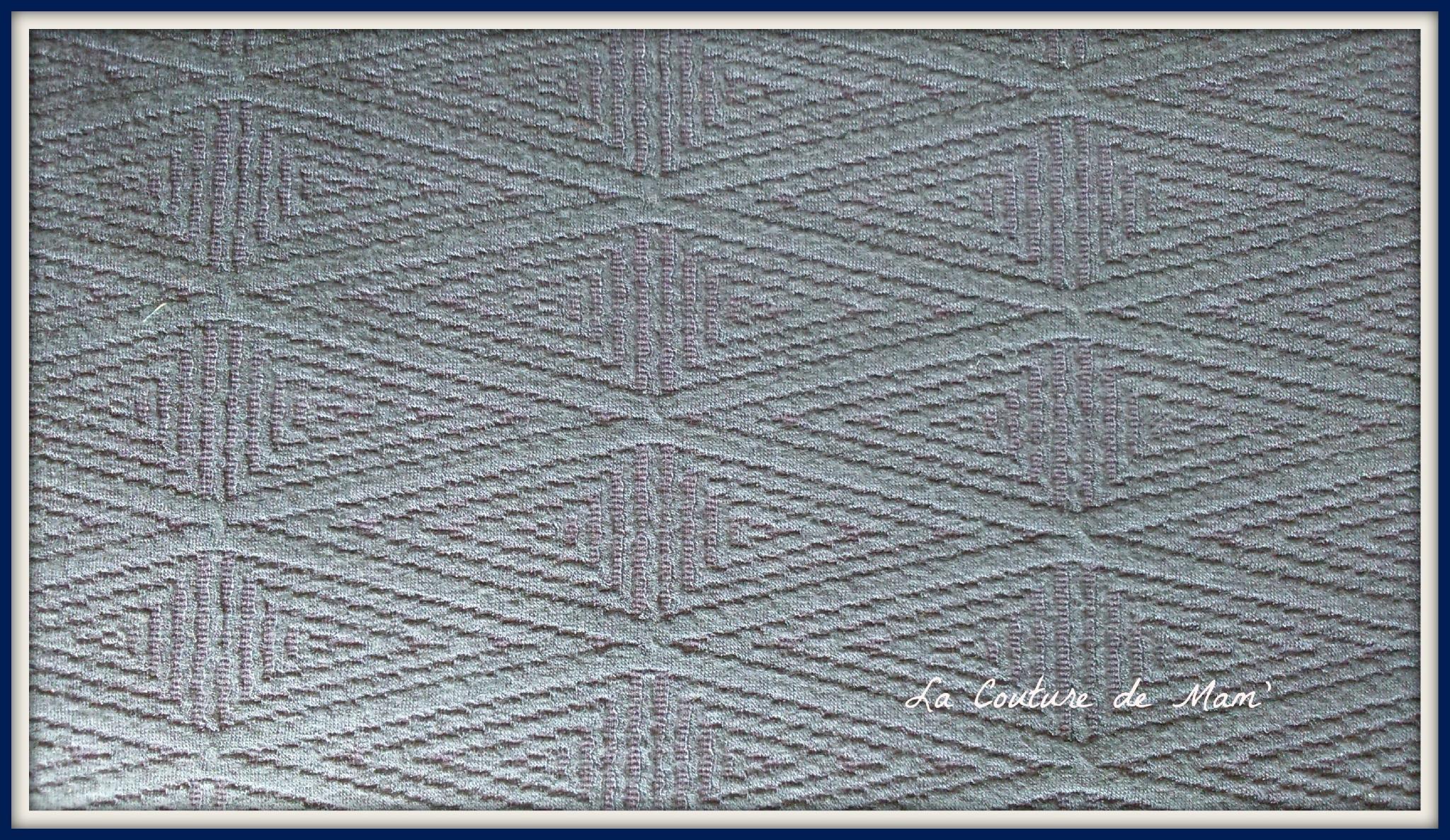 Tissu bleu marine