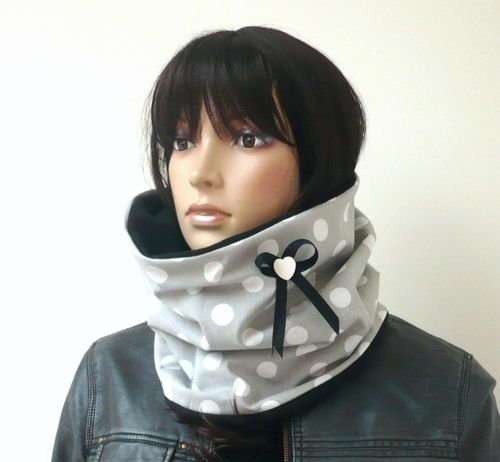 snood polaire coton