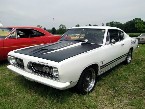 Plymouth Barracuda 340 Formula S fastback coupe 1968 1