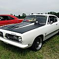 Plymouth barracuda 340 formula s fastback coupe, 1968