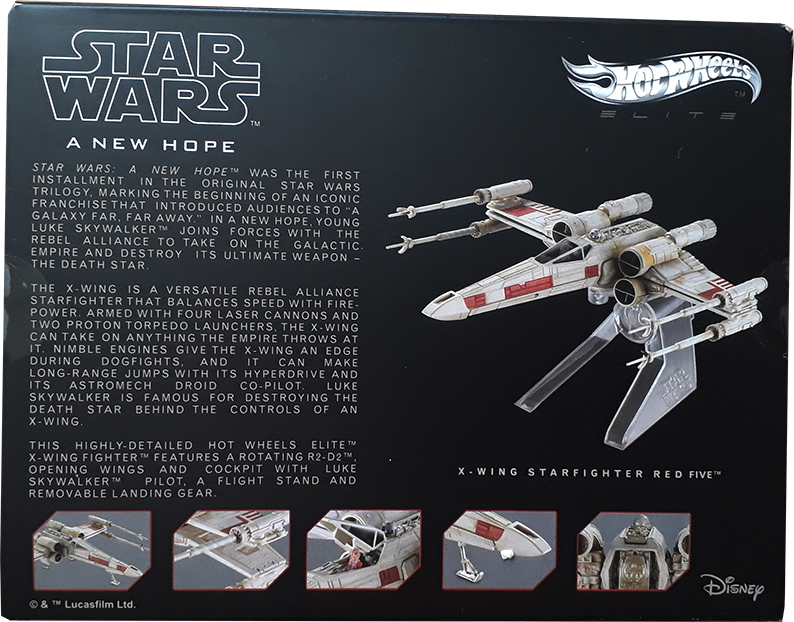 x-wing hotwheel elite box 2