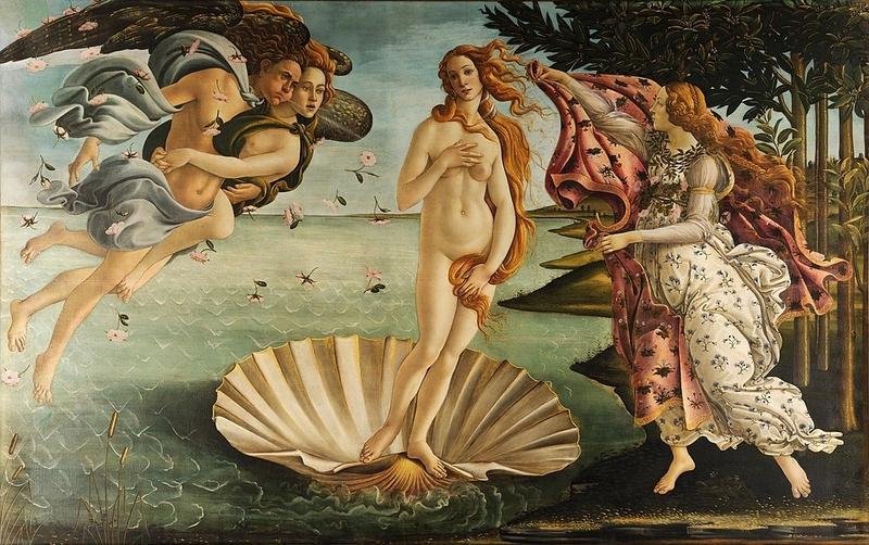 La naissance de Vénus-Sandro Botticelli