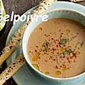 Soupe de rouget aux crevettes et encornets