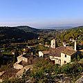 Le beaucet : véritable crèche provençale
