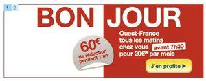 Ouest France avant 7h30