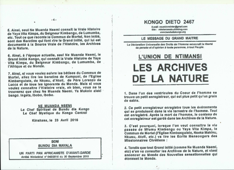 LES ARCHIVES DE LA NATURE a