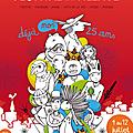L'affiche du 25e festival au village