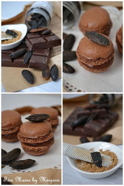 Macarons Choco Fève Tonka