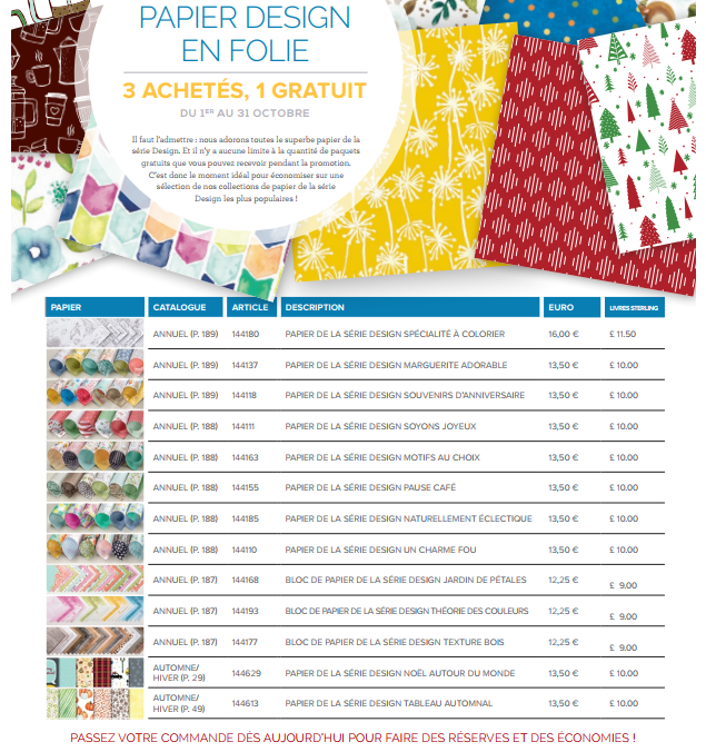 papier design en folie