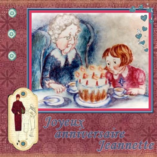 joyeux anniversaire jeannette