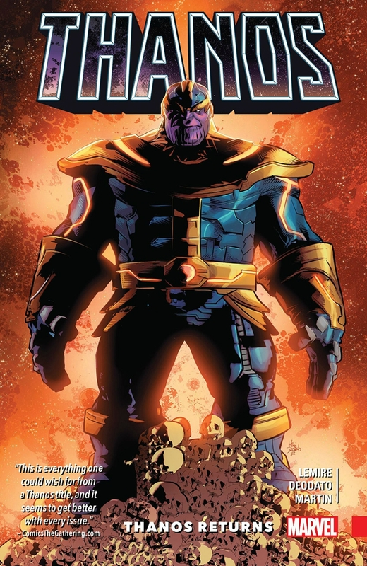 thanos vol 01 thanos returns TP