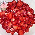 Confiture fraises allégée en sucres