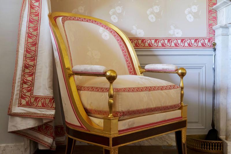 Le petit salon blanc - Thomas Garnier/ château de Versailles