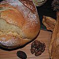 Petits pains au fromage blanc de brebis