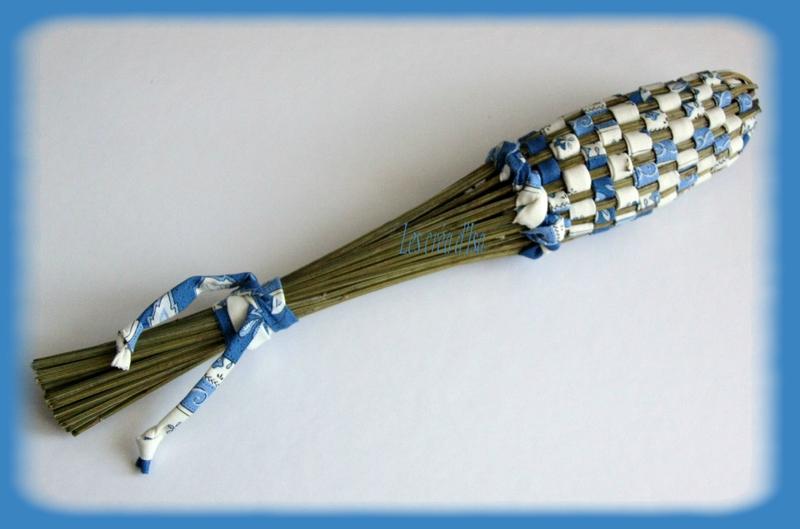 navette tissus provenc bleu