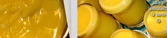 Lemon curd au citron vert