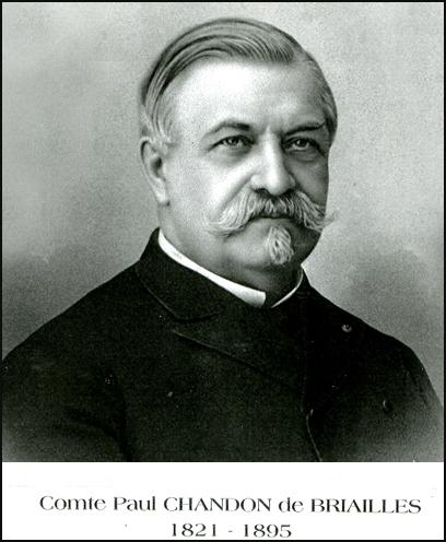 Comte Paul Chandon de Briailles