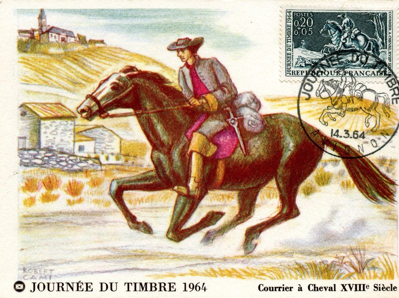 Courrier-a-cheval