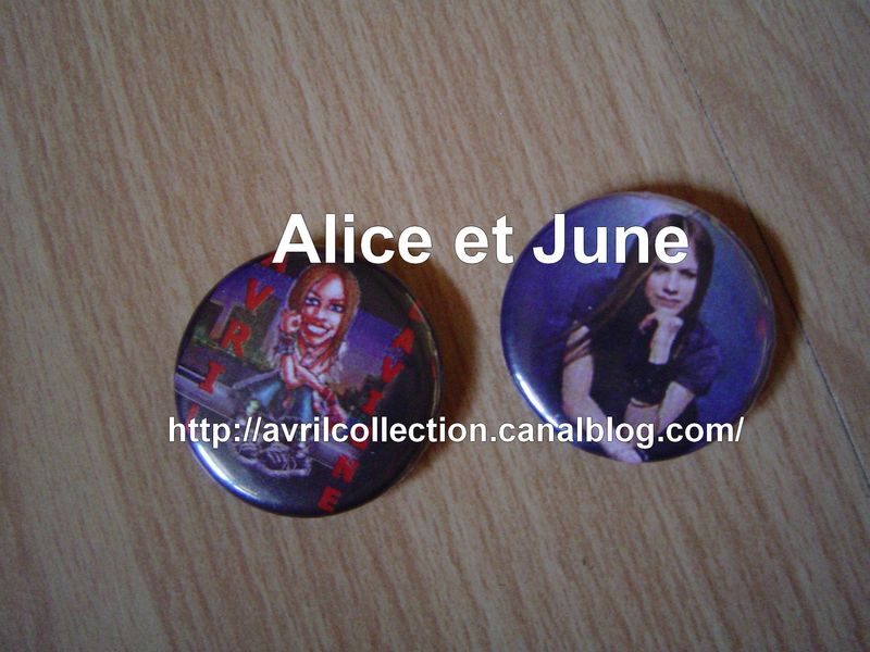 Pins Avril Lavigne