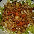 Pomme , hareng en salade 8 pp recette pour 2 pers
