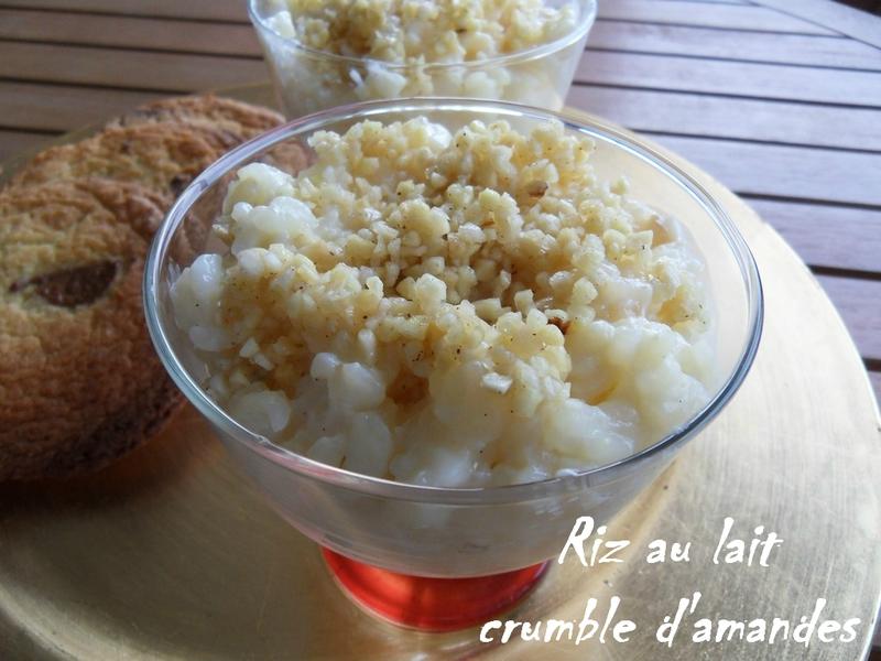riz au lait crumble d'amandes2