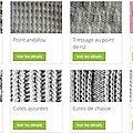 Les logiciels tricot arrivent enfin !