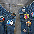 Badges oeuvres d'art