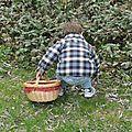 Pâques : première chasse aux oeufs