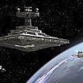 Une liste inhabituelle pour moi à star wars : armada
